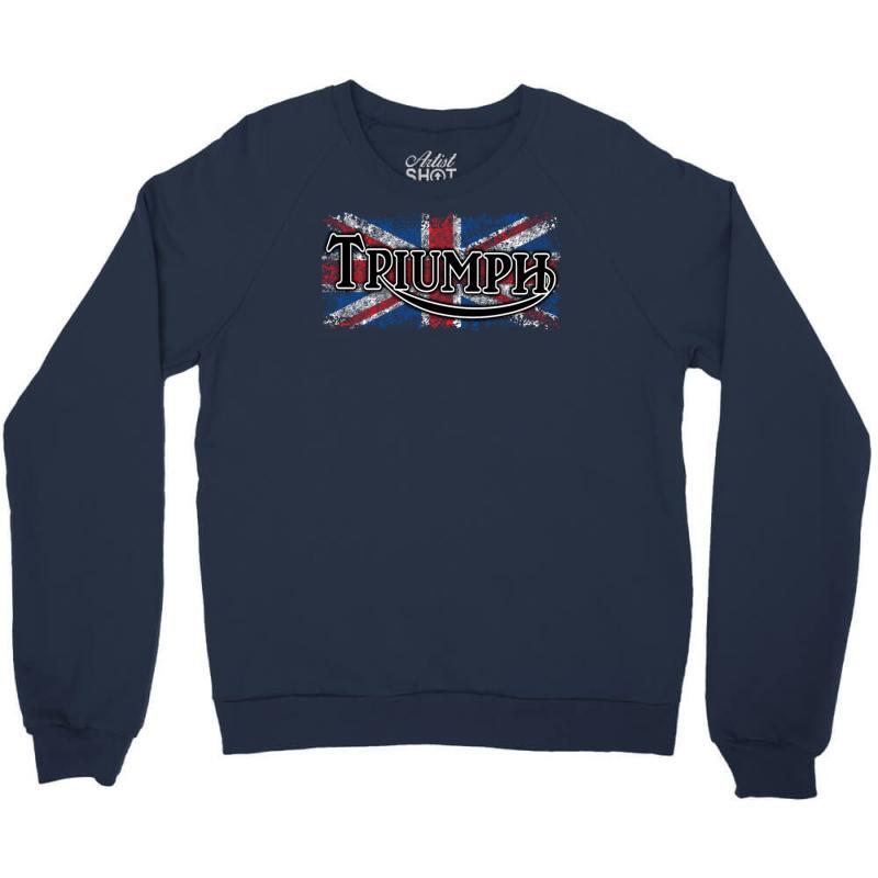 9ddd8826 Custom Triumph Crewneck Sweatshirt By Secreet - Artistshot