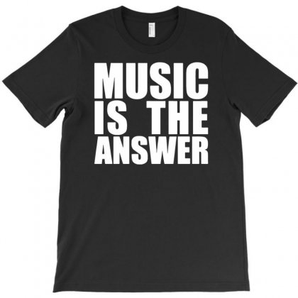 Music Is The Answer T-shirt Designed By Yoseptees