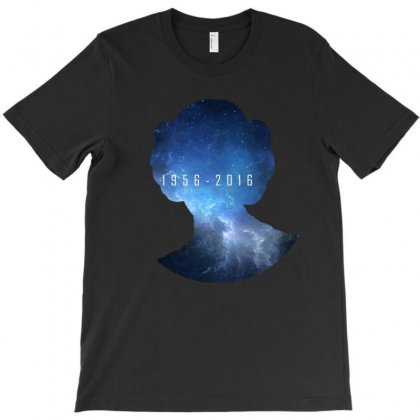Carrie Fisher T-shirt Designed By Pln