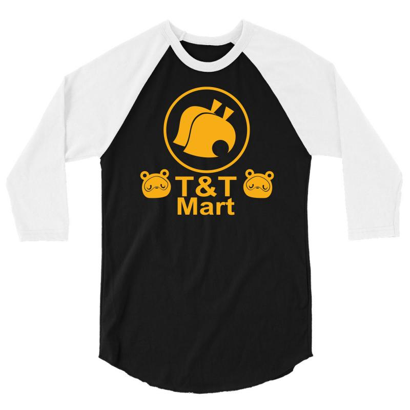 Animal Crossing T & T Mart 3/4 Sleeve Shirt | Artistshot