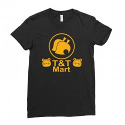 animal crossing t & t mart Ladies Fitted T-Shirt | Artistshot