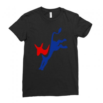 Democrat Ladies Fitted T-shirt Designed By Secreet