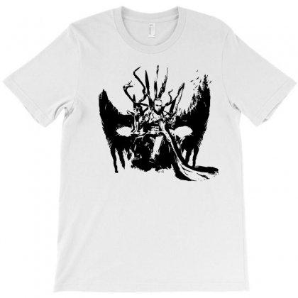 Heda Black Art T-shirt Designed By Pln
