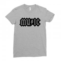 music Ladies Fitted T-Shirt | Artistshot