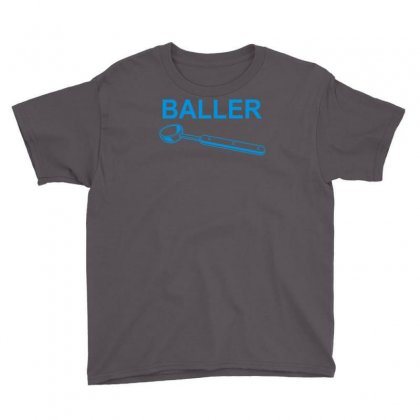 Baller Youth Tee Designed By Robinhoodie