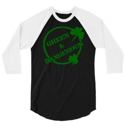 Irish 3/4 Sleeve Shirt Designed By Robinhoodie