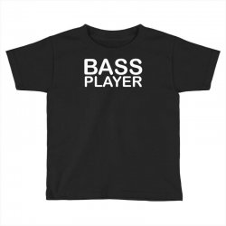 bass player Toddler T-shirt | Artistshot