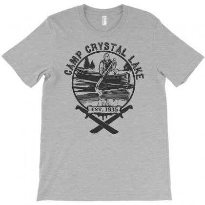 Camp Crystal Lake T-shirt Designed By Uncleodon
