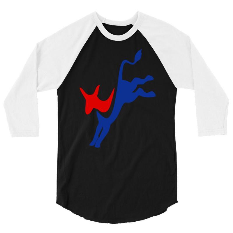 Democrat 3/4 Sleeve Shirt | Artistshot