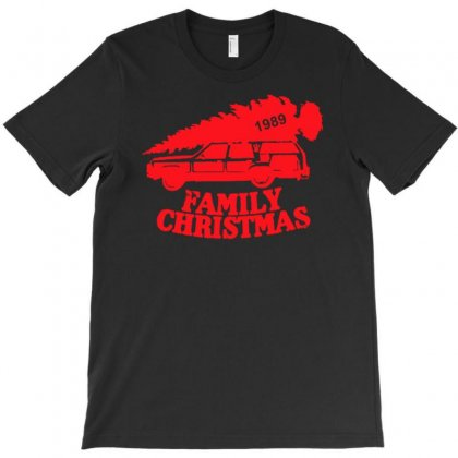 Family Christmas T-shirt Designed By Uncleodon