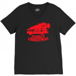 family christmas V-Neck Tee | Artistshot