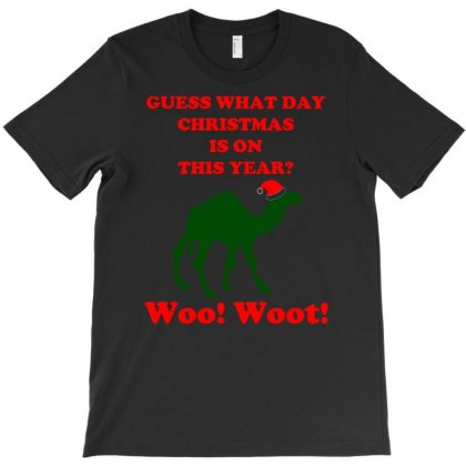 Guess What Day Christmas Is On Hump Day T-shirt Designed By Uncleodon