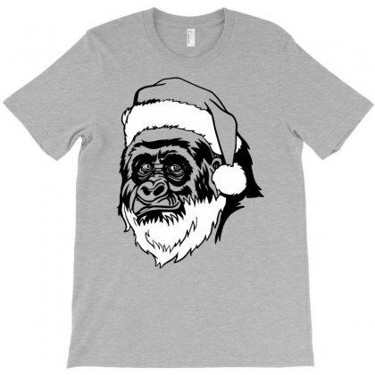 Harambe Santa T-shirt Designed By Uncleodon