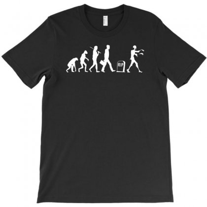 Zombie Evolution T-shirt Designed By Yoseptees