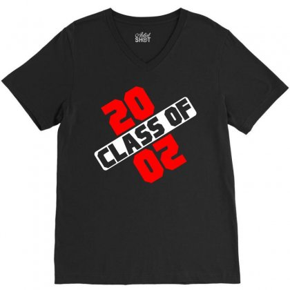 Class Of 2020 V-neck Tee Designed By Designbycommodus
