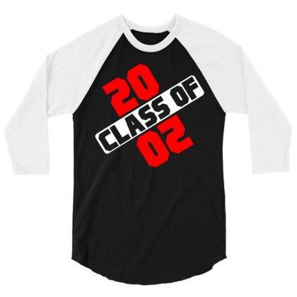 Class Of 2020 3/4 Sleeve Shirt Designed By Designbycommodus