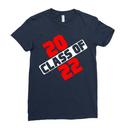Class Of 2022 Ladies Fitted T-shirt Designed By Designbycommodus