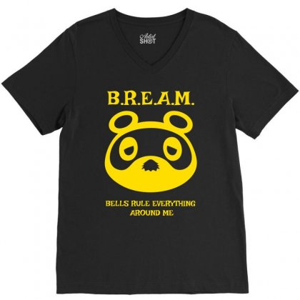 Bells Rule Everything Around Me V-neck Tee Designed By Specstore