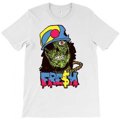 Zombie Fresh T-shirt Designed By Ditreamx