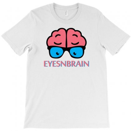 Eyes N Brain T-shirt Designed By Specstore