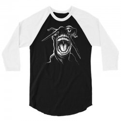 alien scream 3/4 Sleeve Shirt | Artistshot