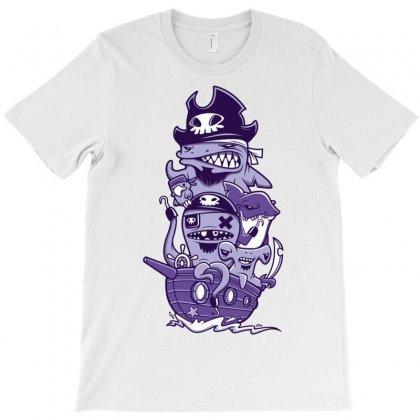 Arrr Pirate T-shirt Designed By Davidgahar   Artistshot