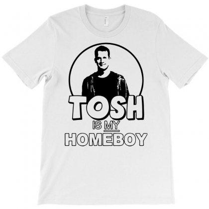 Tosh O Comedy T-shirt Designed By Davidgahar   Artistshot