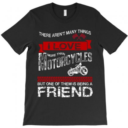 This Friend Loves Motorcycles T-shirt Designed By Rardesign
