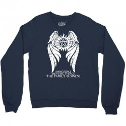 The Family Business Crewneck Sweatshirt | Artistshot