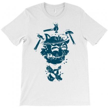 Dizzy Drunk Cat T-shirt Designed By Mdk Art