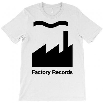 Factory Records Logo T-shirt Designed By Davidgahar   Artistshot