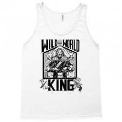 Wild World King Tank Top | Artistshot