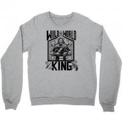 Wild World King Crewneck Sweatshirt | Artistshot