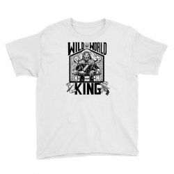 Wild World King Youth Tee | Artistshot