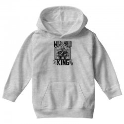 Wild World King Youth Hoodie | Artistshot