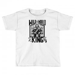 Wild World King Toddler T-shirt | Artistshot