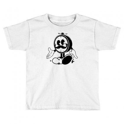 Ye Old Ticker Toddler T-shirt Designed By Mdk Art