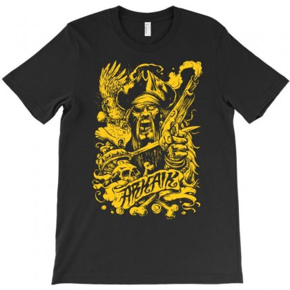 Arkaik Pirate T-shirt Designed By Mdk Art