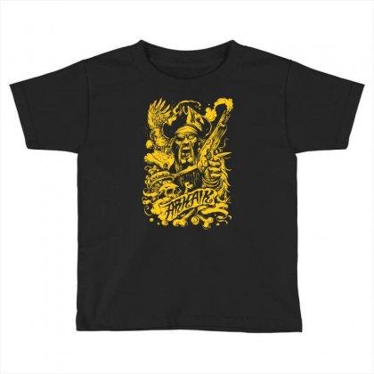 Arkaik Pirate Toddler T-shirt Designed By Mdk Art
