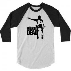 the walking dead 3/4 Sleeve Shirt | Artistshot