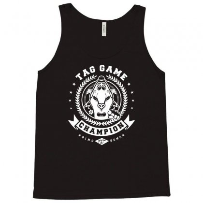 Tag Game Champion Tank Top Designed By Mdk Art