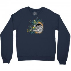 Music Animated Headphones Tshirt Crewneck Sweatshirt | Artistshot