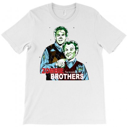 Zombie Brother T-shirt Designed By Ditreamx