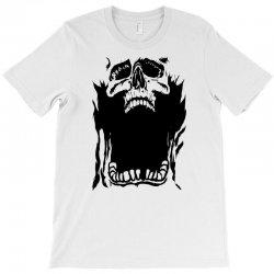 Screaming skull T-Shirt   Artistshot