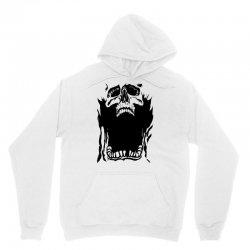 Screaming skull Unisex Hoodie   Artistshot