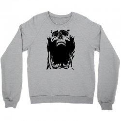 Screaming skull Crewneck Sweatshirt   Artistshot