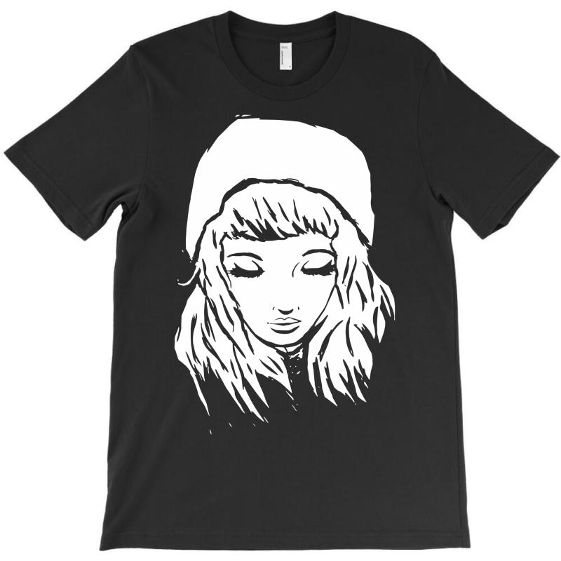 Beanie Hat Eyes Closed T-shirt | Artistshot