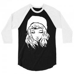 beanie hat eyes closed 3/4 Sleeve Shirt | Artistshot