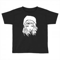 beanie hat eyes closed Toddler T-shirt | Artistshot