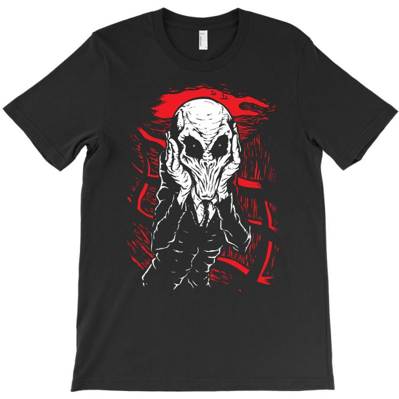 A Scream Of Silence T-shirt | Artistshot
